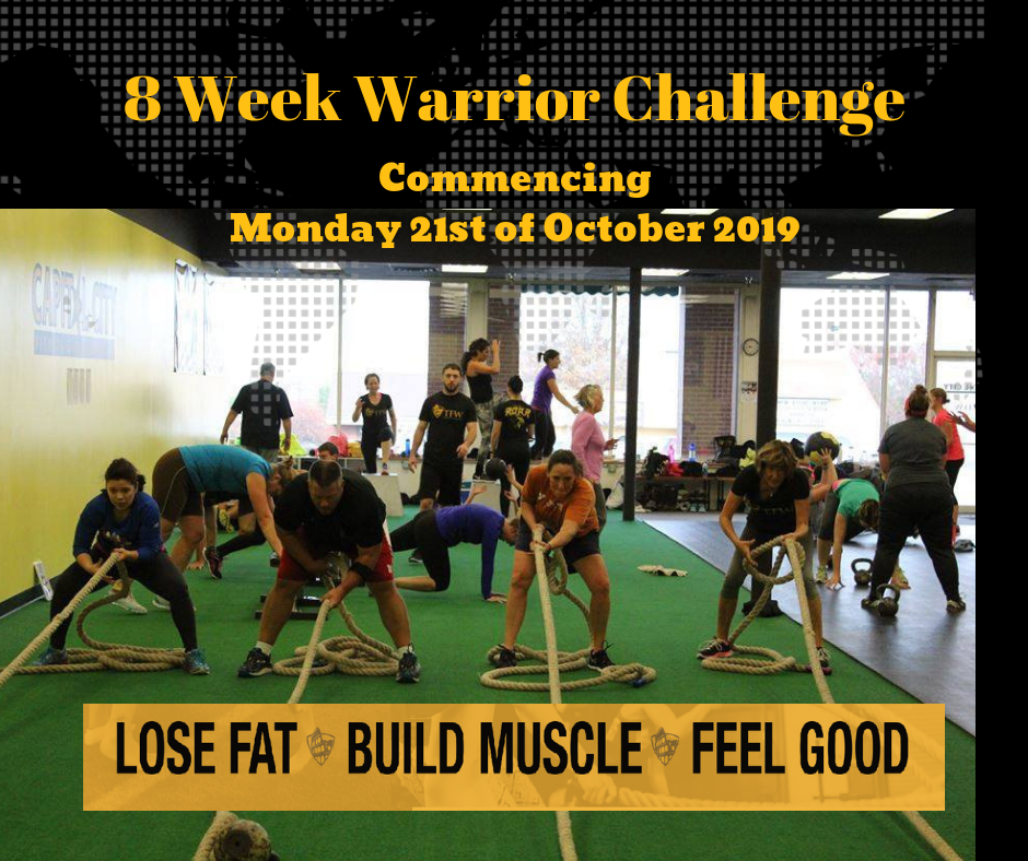 TFW 8 Week Warrior Challenge